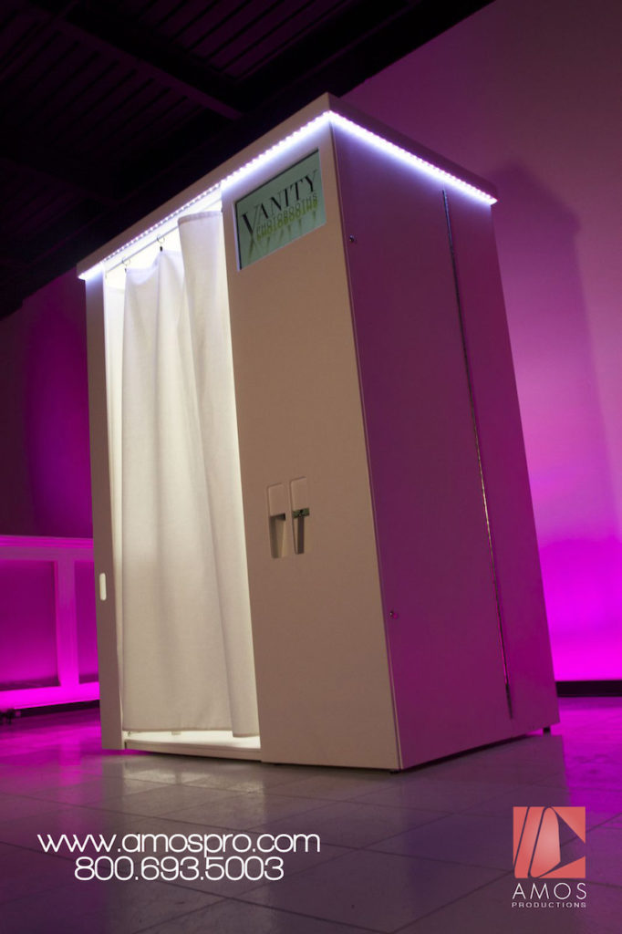 AMOSPRO VANITY BOOTH